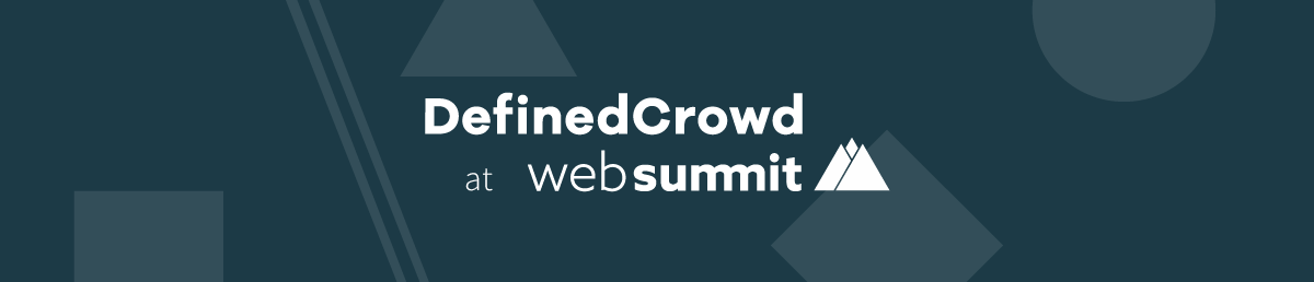See You at Web Summit 2018