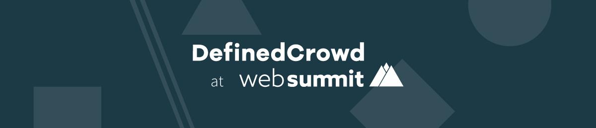 See You at Web Summit2018