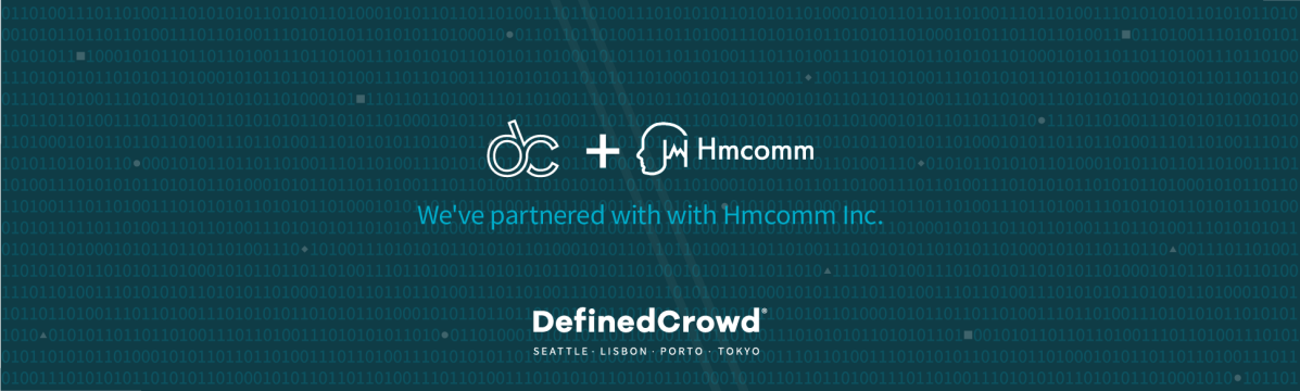 DefinedCrowd Japan announces strategic partnership with Hmcomm